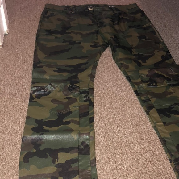 beautiful design big selection united kingdom Men's leather army fatigue pants from No Country